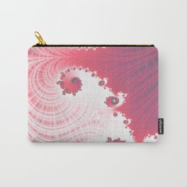 Strawberry Cream - Fractal Art Carry-All Pouch