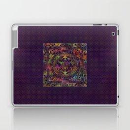 Colorful Sri Yantra  / Sri Chakra Laptop & iPad Skin