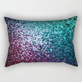 Colorful Mosaic Reflection Rectangular Pillow