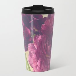 Romantic Ranunculus Travel Mug