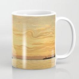 Trieste. The Molo Audace Coffee Mug