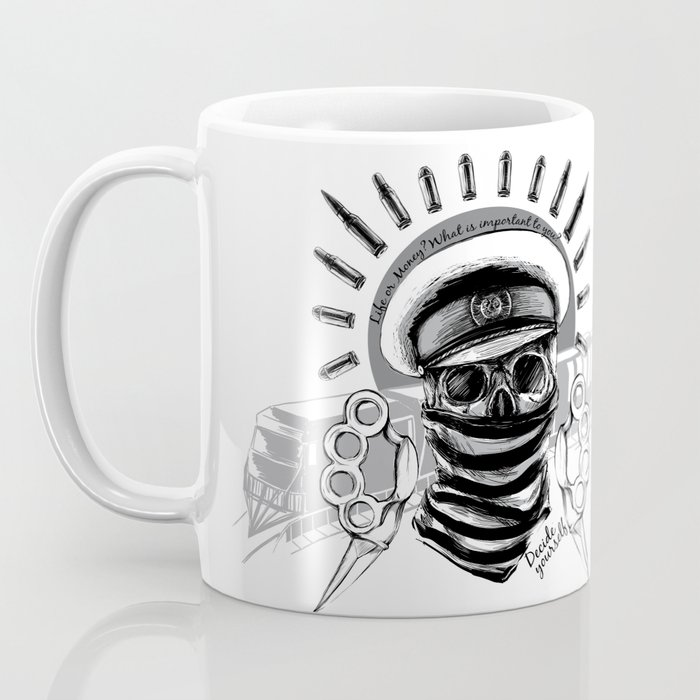 Robbery on the express Coffee Mug