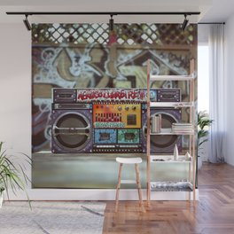 Texas Pimps Boombox Wall Mural