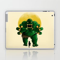 monster green Laptop & iPad Skin