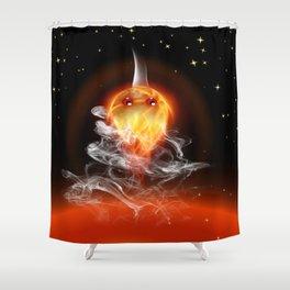 Feuerfisch - fire fish Shower Curtain