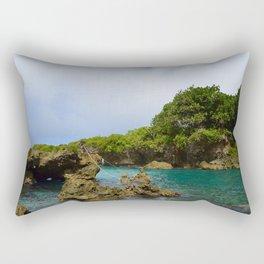 Ague Cove- Guam Rectangular Pillow