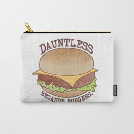 Dauntless - Because Burgers Carry-All Pouch