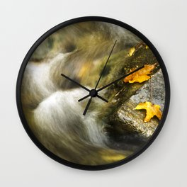 Fall Creek Wall Clock