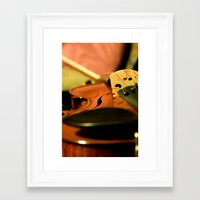 violin Framed Art Prints featuring Violin by DeannaPaullPhotography