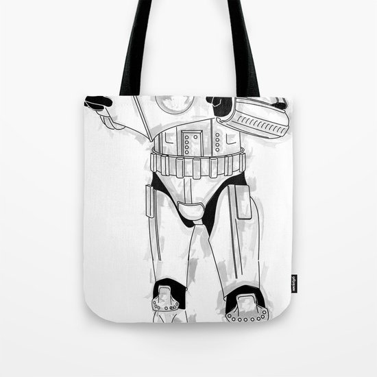 Stormtrooper Empire  Tote Bag