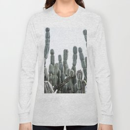 Minimalist Cactus Long Sleeve T-shirt