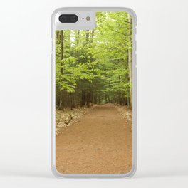 Northern Forest Clear iPhone Case