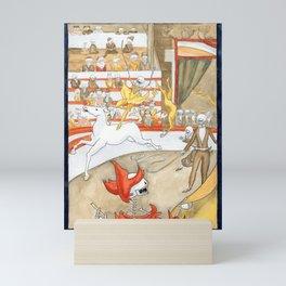 Le Cirque (The Circus) - Georges Seurat, 1891 Mini Art Print