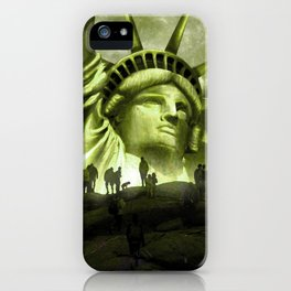 Tourist Destination - Statue of Liberty Style iPhone Case