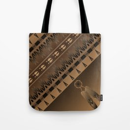 Elk Spirit (Brown) Tote Bag