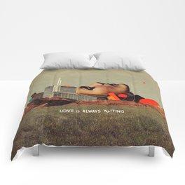 Love Is Always Waiting Comforters