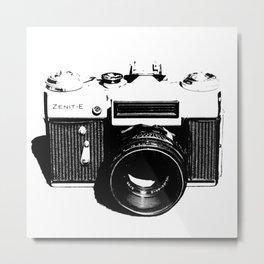 Old Camera Metal Print