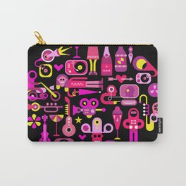 Celebration Party round illustration Carry-All Pouch