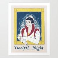 Twelfth Night Art Print