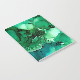 Into the Depths of Sea Green Mysteries Notebook