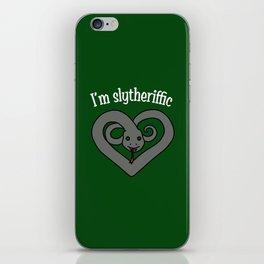 I'm Slytheriffic iPhone Skin