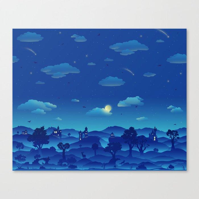 Fairytale Dreamscape Canvas Print