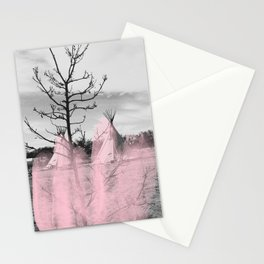Pink Texas / Marfa Stationery Cards