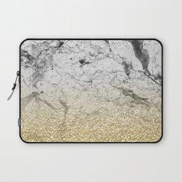 Amalfi golden ombre marble Laptop Sleeve