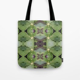 Almond Tree Pattern Tote Bag