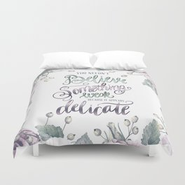 YOU NEEDN'T BELIEVE Duvet Cover