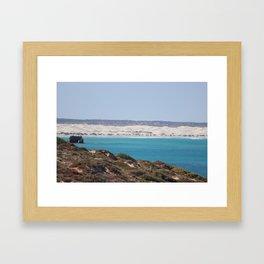 Distant Sacred Land on Nullarbor Framed Art Print