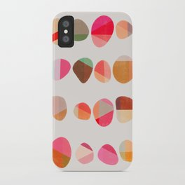 Painted Pebbles 5 iPhone Case
