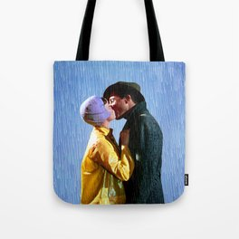 Singin' in the Rain - Blue Tote Bag