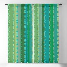 Multi-faceted decorative lines 6 Blackout Curtain