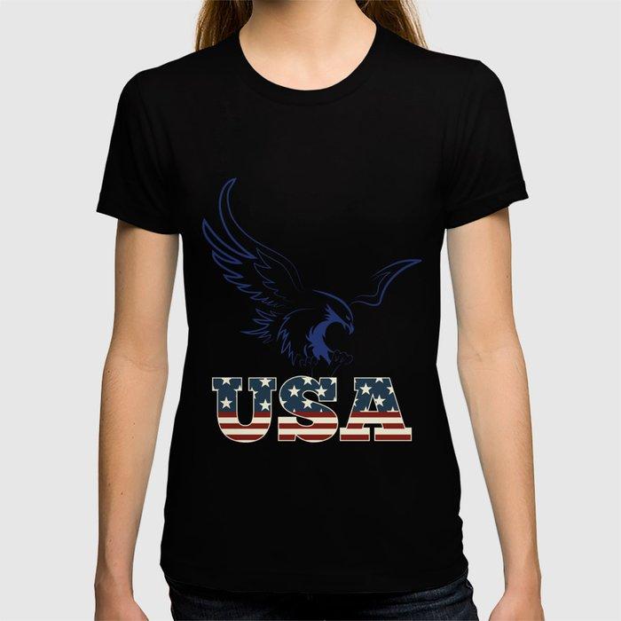 American Eagle holding usa T-shirt