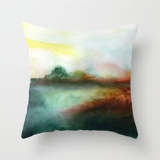 Mourning Morning Throw Pillow