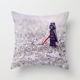 Darth lego Vader Throw Pillow