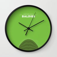 yoda Wall Clocks featuring Yoda by Mr. Peruca