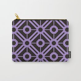 The Purple Octagon Seamless Pattern Carry-All Pouch