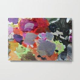 Painter Palette Metal Print