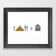 es&d Framed Art Print