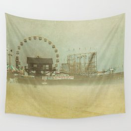 Seaside Heights Fun town pier New Jersey Wall Tapestry