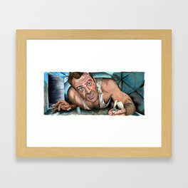 Die Hard - Come Out to the Coast Framed Art Print
