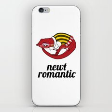 Newt Romantic iPhone & iPod Skin
