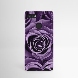 Rose Bouquet in Purple Android Case