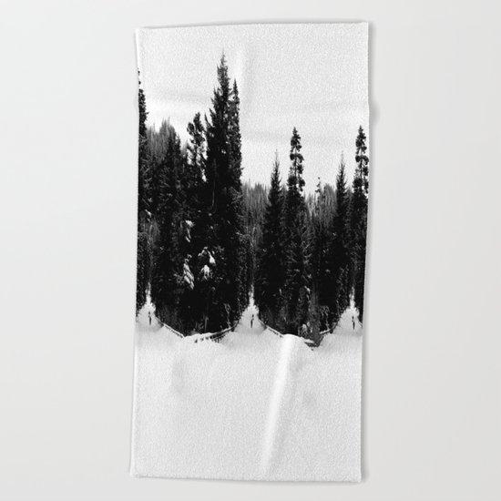 Frozen InDecision Beach Towel