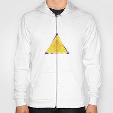 Merkaba Triangle Yellow Hoody