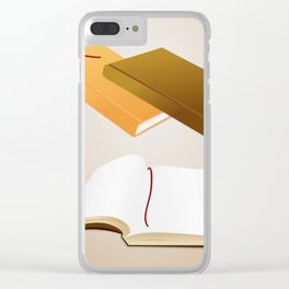 Book collection Clear iPhone Case