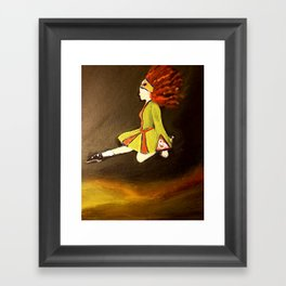 Irish Dancer Framed Art Print