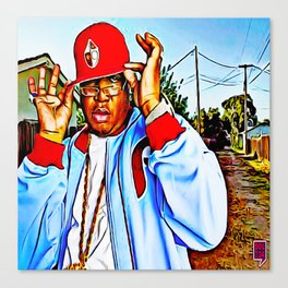 """SYNONYMOUS W/ BAY AREA RAP"" Canvas Print"